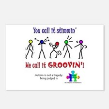 Stimmin'? Groovin'! Postcards (Package of 8)