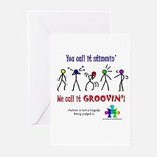 Stimmin'? Groovin'! Greeting Cards (Pk of 10)