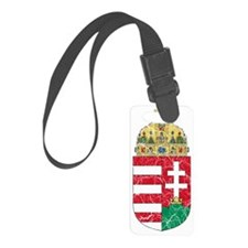 Hungary Coat of Arms cracle Luggage Tag