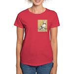 Red Bar Grizzle West Women's Dark T-Shirt