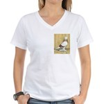 Red Bar Grizzle West Women's V-Neck T-Shirt