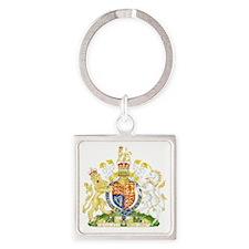 Royalthe United Kingdom Coat of Ar Square Keychain