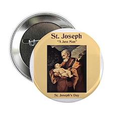 St. Joseph's Day Button
