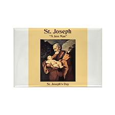 St. Joseph's Day Rectangle Magnet