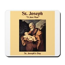 St. Joseph's Day Mousepad