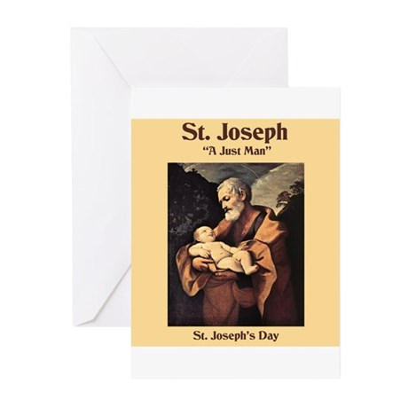St. Joseph's Day Greeting Cards (Pk of 10)