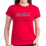 One Asshole Is Enough Women's Red T-Shirt
