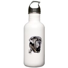 Neapolitan mastiff by madeline wilson Water Bottle
