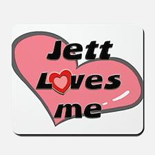 jett loves me  Mousepad