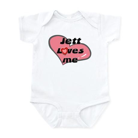 jett loves me Infant Bodysuit
