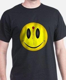 Bleeding Smiley Face T-Shirt