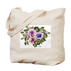 Rose Trio Tote Bag