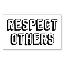 Respect Others Decal