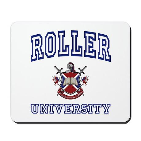 ROLLER University Mousepad