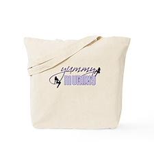 Yummy Mummy (blue) Tote Bag