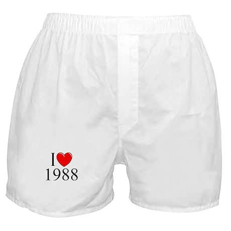 """I Love 1988"" Boxer Shorts"