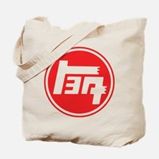 TEQ logo red large Tote Bag