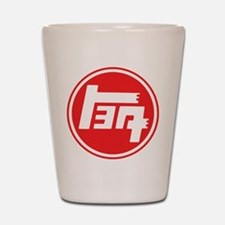 TEQ logo red large Shot Glass