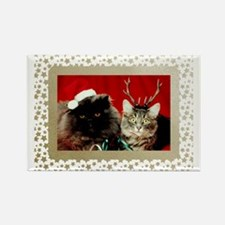 Vintage Christmas C... Rectangle Magnet