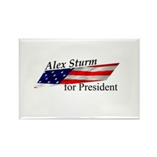 Alex Sturm Rectangle Magnet