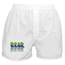 BEAR-RAINBOW/MIRROR/BRICK2 Boxer Shorts