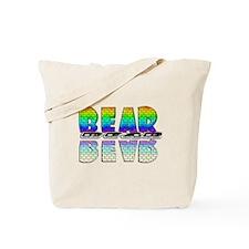 BEAR-RAINBOW/MIRROR/BRICK2 Tote Bag