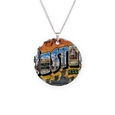 Greetings from Boston Necklace