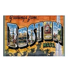 Greetings from Boston Postcards (Package of 8)