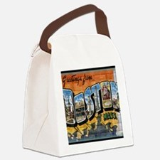 Greetings from Boston Canvas Lunch Bag
