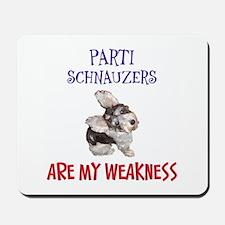 Parti Schnauzers 2.0 Mousepad