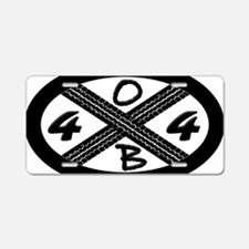 OBX 4x4 Aluminum License Plate