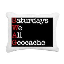 Saturdays Mpad Rectangular Canvas Pillow