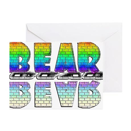 BEAR-RAINBOW/MIRROR/BRICK2 Greeting Cards (10pk