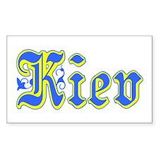 Kiev Rectangle Decal