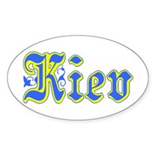 Kiev Oval Decal