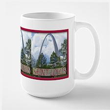 St Louis Arch Large Mug