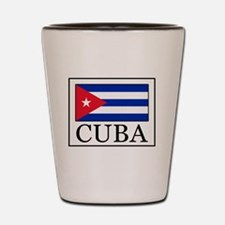 Funny Cubano Shot Glass