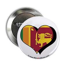 """I Love Sri Lanka 2.25"""" Button (100 pack)"""