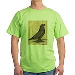 Brown Self West Green T-Shirt