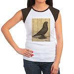 Brown Self West Women's Cap Sleeve T-Shirt