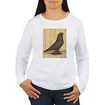 Brown Self West Women's Long Sleeve T-Shirt