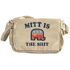 Mitt is the Shit Messenger Bag