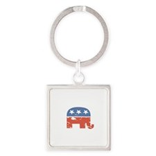 Mitt is the Shit Square Keychain