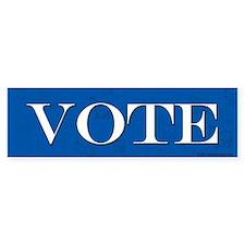 Vote Blue Bumper Bumper Sticker