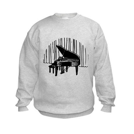 Piano On Stage Sweatshirt