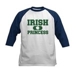 Irish Princess Kids Baseball Jersey