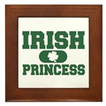 Irish Princess Framed Tile