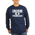 Irish Princess Long Sleeve Dark T-Shirt