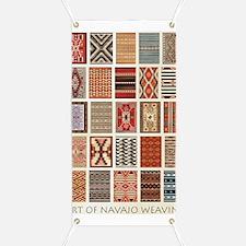 Art of Navajo Weaving Banner