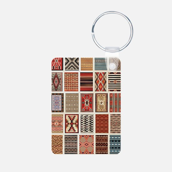 Art of Navajo Weaving Keychains